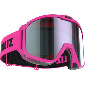 Bliz Rave Lunettes de protection Enfant, matt pink/brown-purple multi
